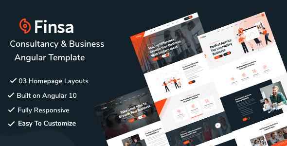 Finsa -  Consultancy & Business Angular Template