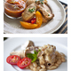 Appetizing meals on plate - PhotoDune Item for Sale