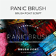 Panic Brush Font
