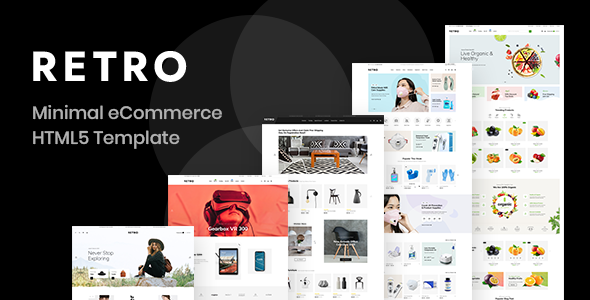 Retro - Clean Minimal eCommerce HTML5 Template