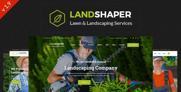 The Landshaper - Gardening & Landscaping WordPress Theme