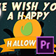 Halloween Logo   For Premiere Pro - VideoHive Item for Sale