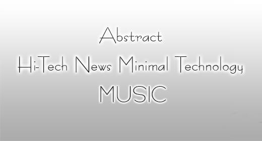 Abstract Hi-Tech News Minimal Technology Music