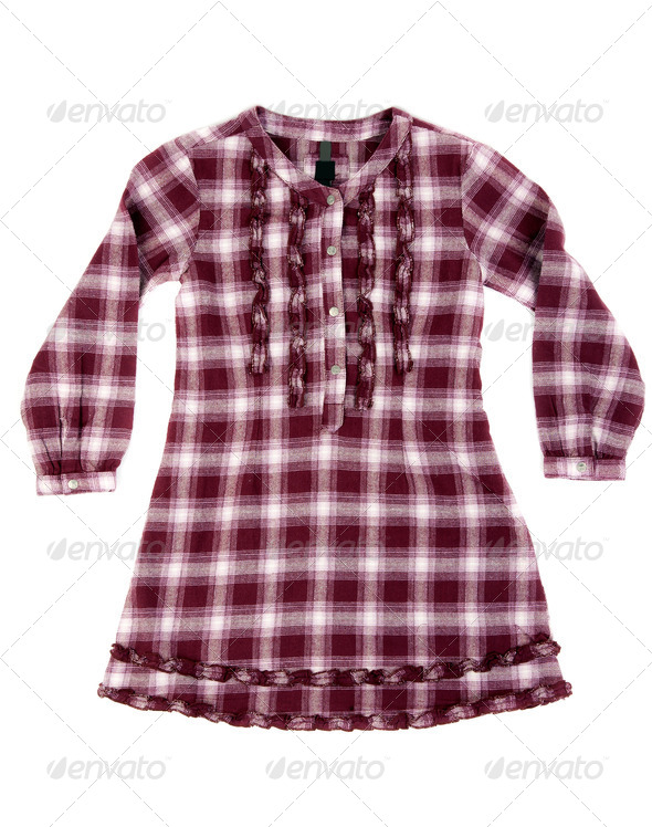 Checkered shirt - Stock Photo - Images