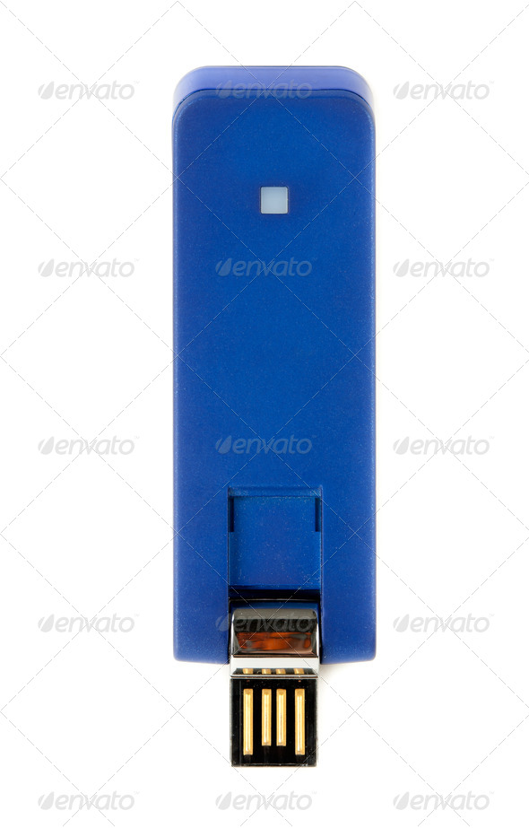 USB modem - Stock Photo - Images