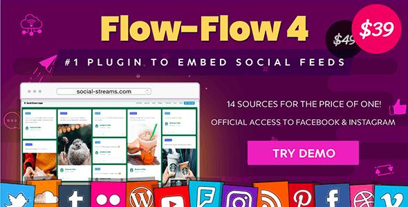 Facebook Instagram Twitter Feed — WordPress Social Feed Grid Gallery Plugin Nulled