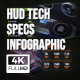 HUD Technology Spec Infographics - VideoHive Item for Sale
