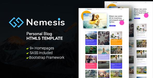 Nemesis | Blog HTML5 Template