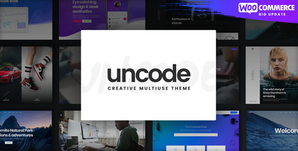 Incredible Uncode - Creative Multiuse & WooCommerce WordPress Theme