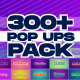 Creative Pop Ups Pack - VideoHive Item for Sale