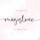 Magistone - Calligraphy Font