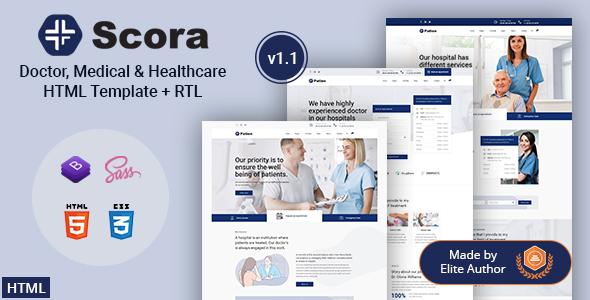 Scora - Doctor & Medical HTML Template
