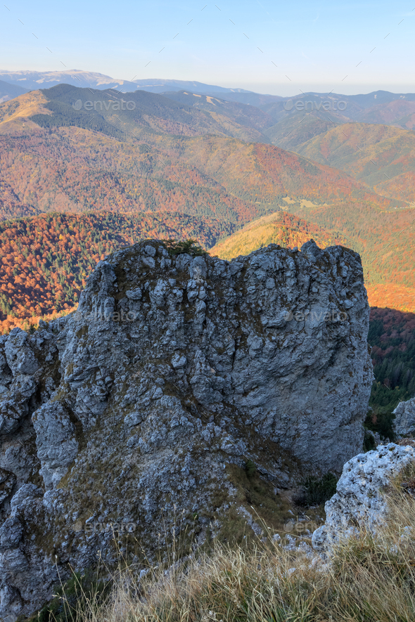 Piatra Craiului Mountains, Romania - Stock Photo - Images