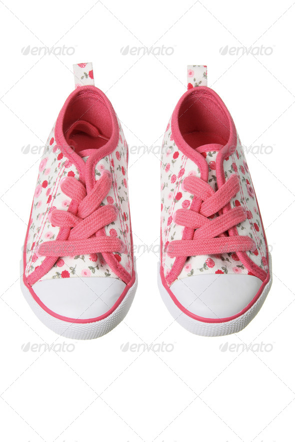 Canvas Shoes - Stock Photo - Images