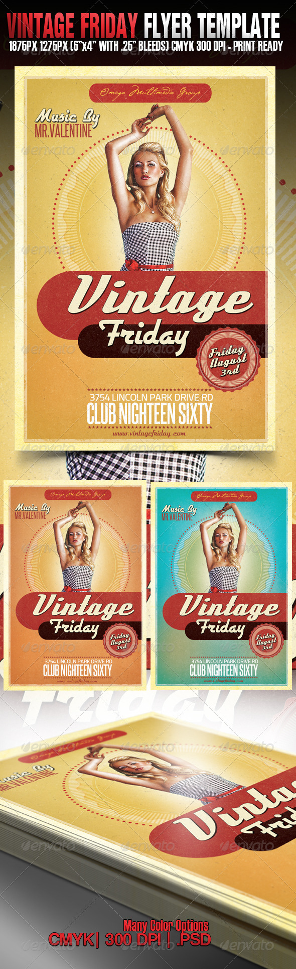 Vintage Friday - Clubs & Parties Events