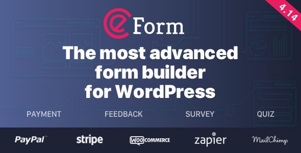 eForm - WordPress Form Builder Nulled