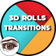 Glance and Folding 3D Rolls Transitions - VideoHive Item for Sale