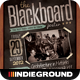 Blackboard Flyer/Poster - GraphicRiver Item for Sale