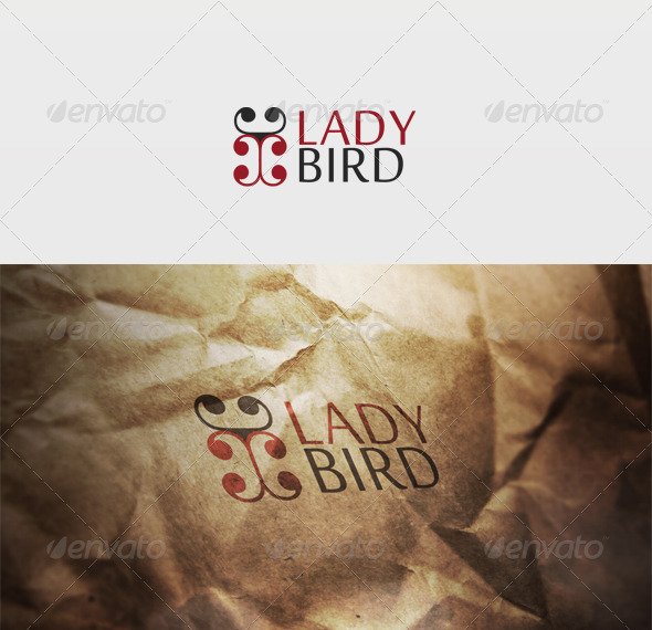 Ladybird Logo - Vector Abstract