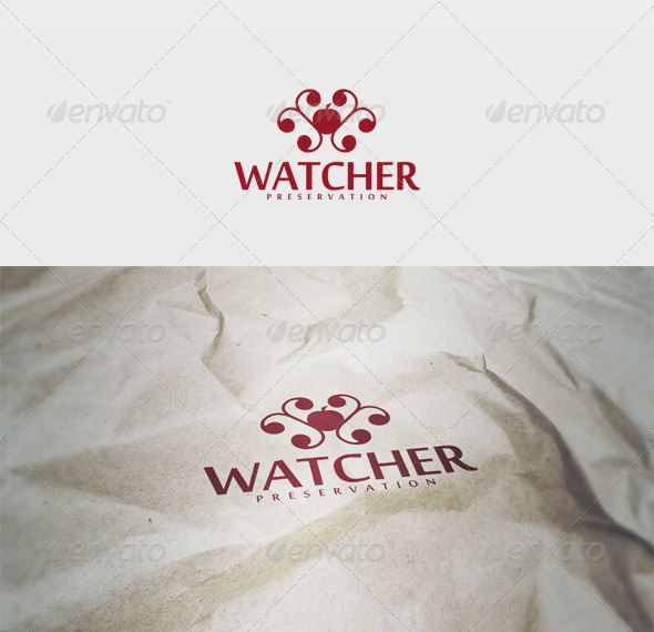 Watcher Logo - Vector Abstract