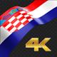 Long Flag Croatia - VideoHive Item for Sale