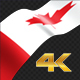 Long Flag Canada - VideoHive Item for Sale