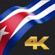 Long Flag Cuba - VideoHive Item for Sale