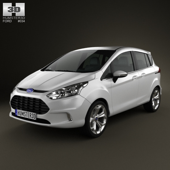 Ford B-MAX 2013  - 3DOcean Item for Sale