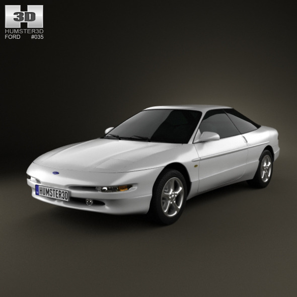 Ford Probe GT 1995 - 3DOcean Item for Sale