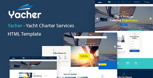 Yacher - Yacht Charter Services HTML Template
