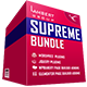 Supreme Bundle - WordPress - WP Bakery - Elementor - jQuery Plugins