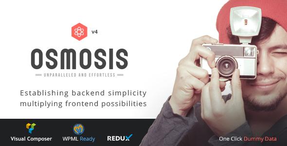 Osmosis - Responsive Multi-Purpose WordPress Theme