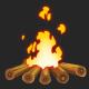 Cartoon Bonfire - VideoHive Item for Sale