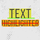 Text Highlighter Presets - VideoHive Item for Sale