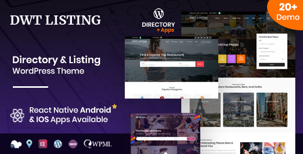 DWT - Directory & Listing WordPress Theme