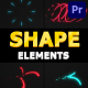 Flying Shapes | Premiere Pro MOGRT - VideoHive Item for Sale