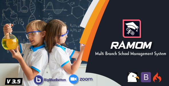 Ramom School - Multi Branch School Management System