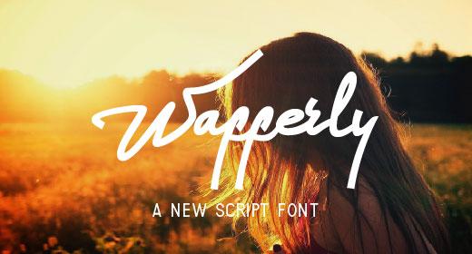 Wafferly Font