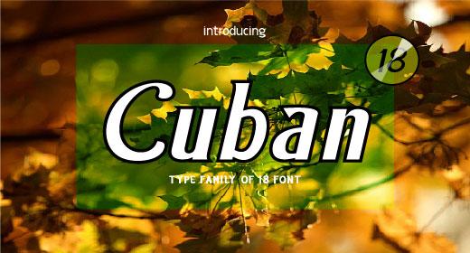 Cuban Font