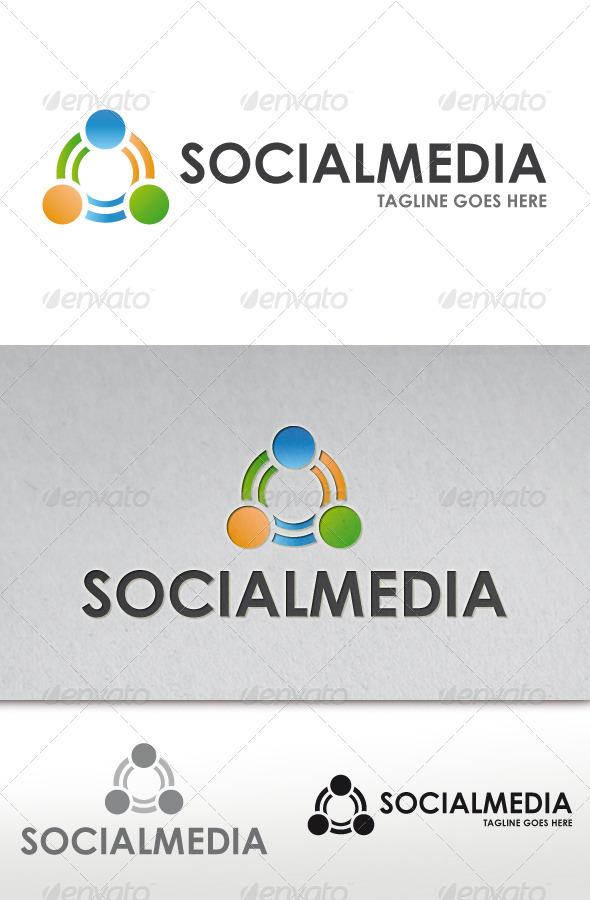 Social Media Logo - Vector Abstract