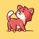 Cute Cat - Logo Mascot