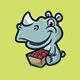 Rhino - Logo Mascot