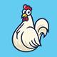 Chicken - Logo Mascot