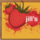 Splattered Strawberries Business Card  - GraphicRiver Item for Sale
