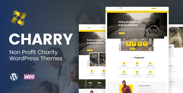 Charry - Non Profit Charity WordPress Themes