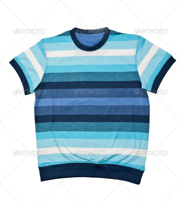 striped sweater - Stock Photo - Images