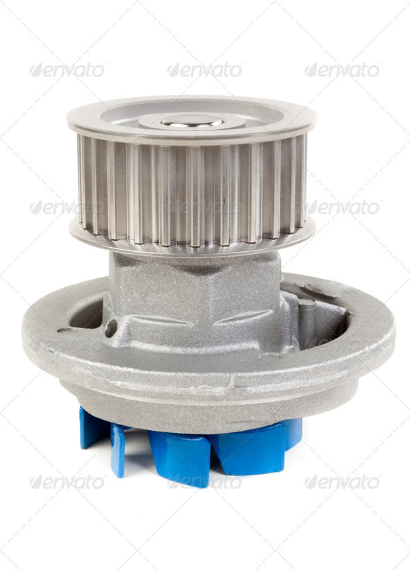 Water pump motor - Stock Photo - Images