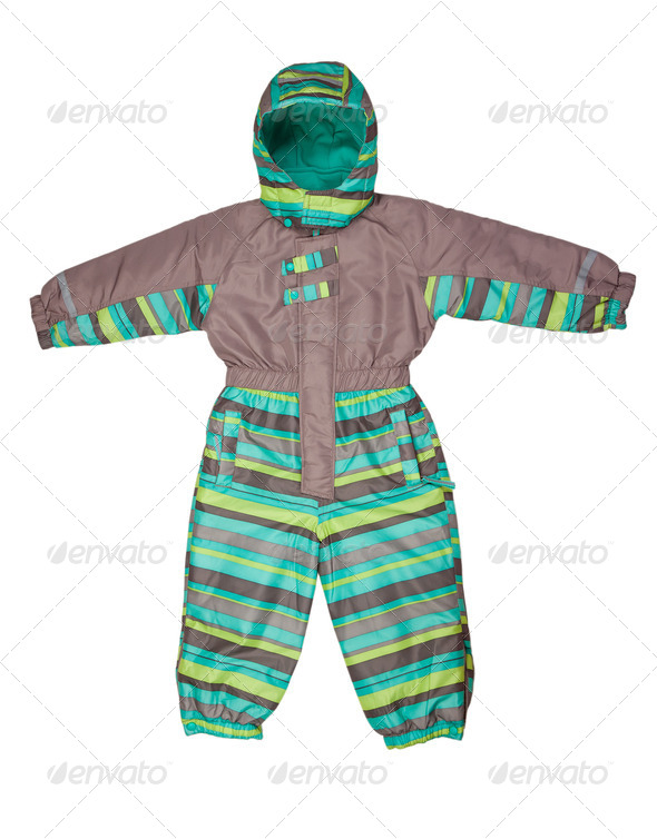 Winter rompers - Stock Photo - Images