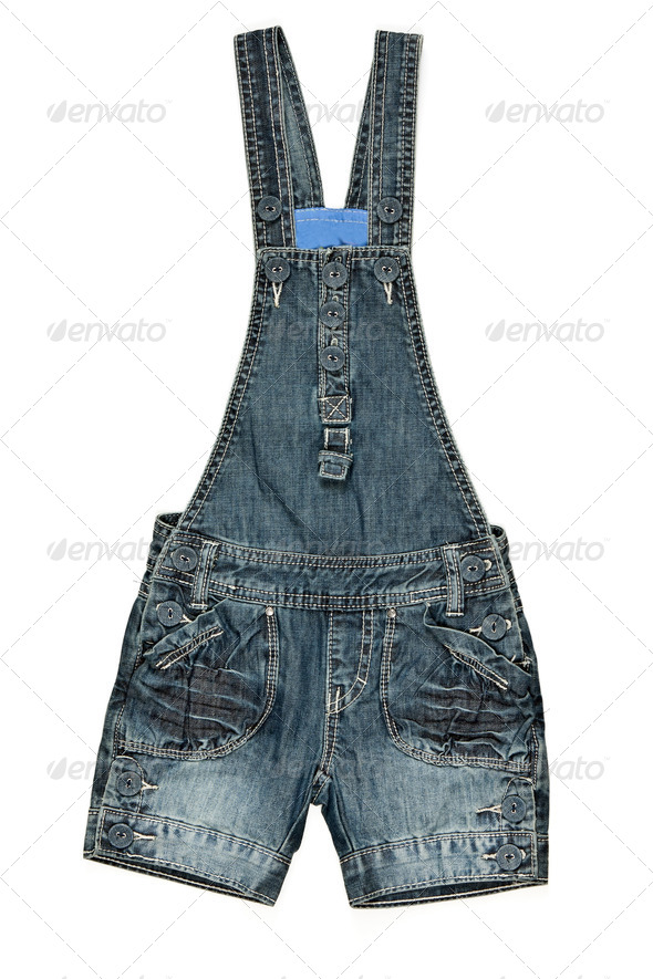 children's denim shorts - Stock Photo - Images