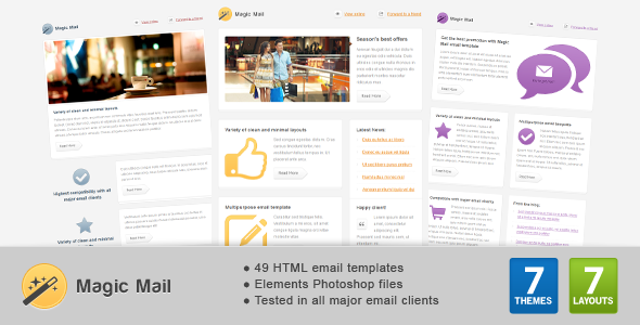 Magic Mail – Email Template